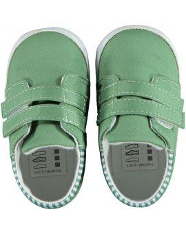 Baby schoentjes Groen