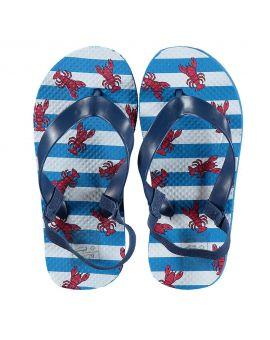 Baby slippers Blauw