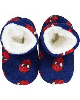Spiderman Kinder pantoffels Blauw