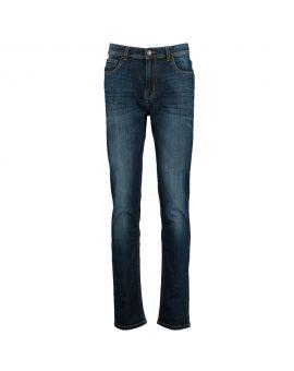 Heren jeans Denimblauw