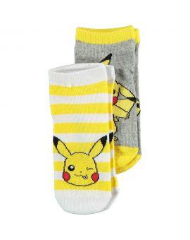 Pokémon Kinder sneakersokken Geel