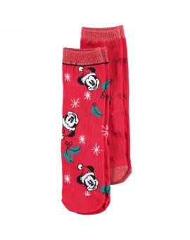 Mickey Kinder sokken Rood