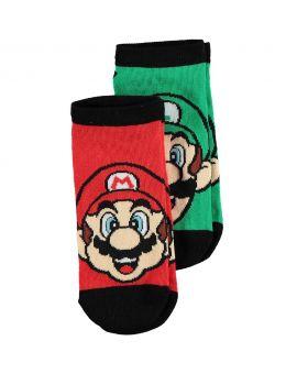 Super Mario Kinder sneakersokken Rood