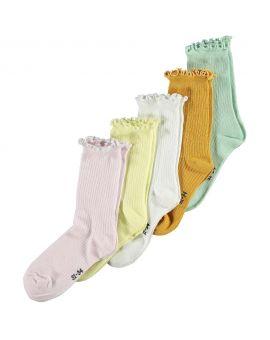 Meisjes sokken Lila