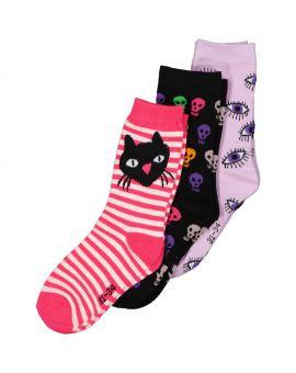 Kinder sokken Lila