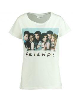 Friends Dames T-shirt Wit