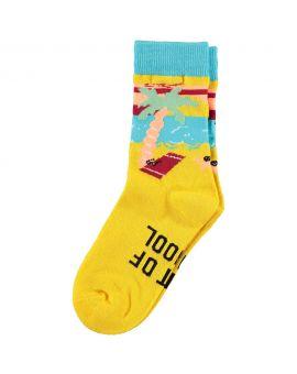 Kinder sokken Geel