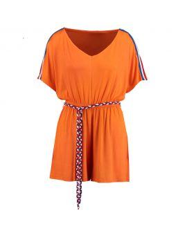 Dames jumpsuit Oranje