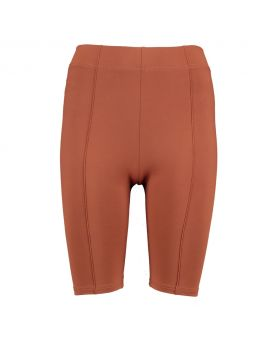 Dames biker shorts Roestbruin