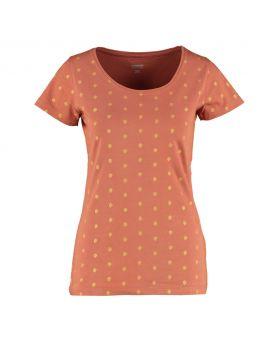 Dames T-shirt Bordeaux