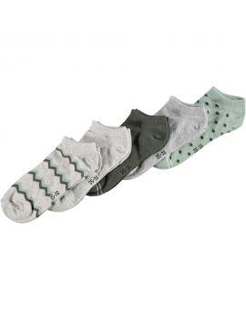 Dames sneakersokken Groen