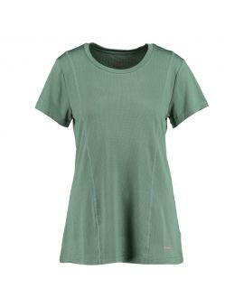 Dames sport t-shirt Groen