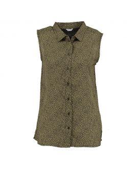 Dames blouse Legergroen