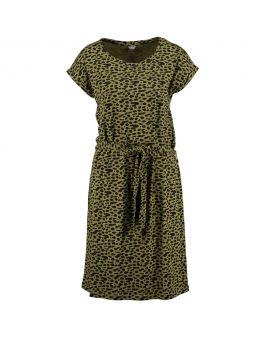 Dames jurk Legergroen