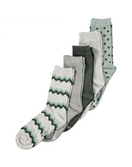 Dames sokken Legergroen