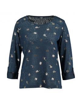Dames trui Nachtblauw