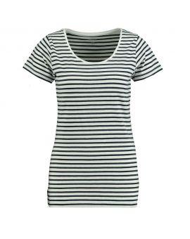 Dames T-shirt Nachtblauw
