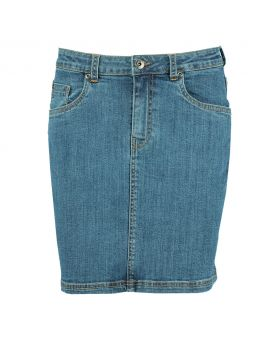 Dames rok Denimblauw