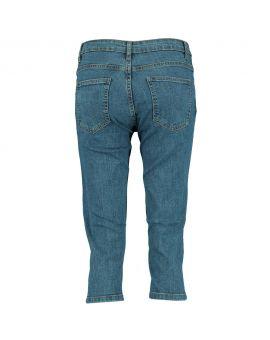Dames jeans Denimblauw