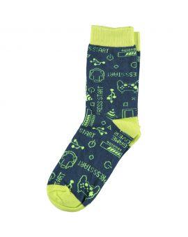 Kinder sokken Blauw