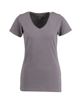 Dames T-shirt Antraciet