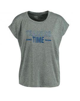 Dames sport t-shirt Grijs