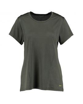 Dames sport t-shirt Antraciet