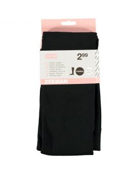 Dames thermo maillot Zwart