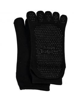Dames yoga sokken Zwart