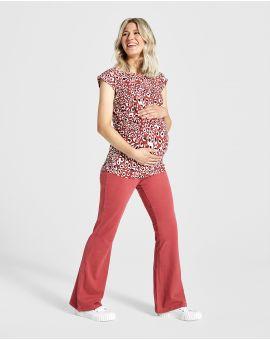 Zwangerschapsshirt Paprika