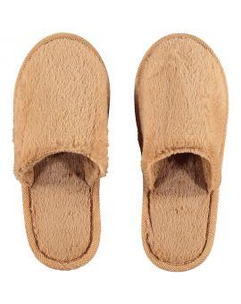 Dames pantoffels Bruin