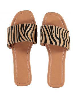 Dames slippers Zand