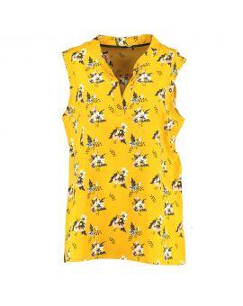 Dames blouse Geel