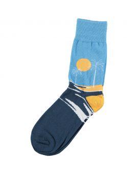 Dames fun sokken Blauw