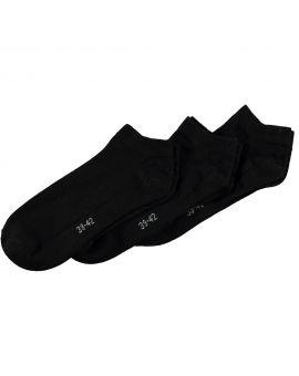 Dames sneakersokken Zwart