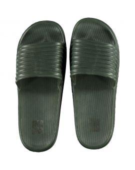 Heren slippers Groen