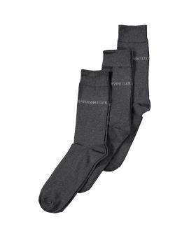 Merk sokken Antraciet