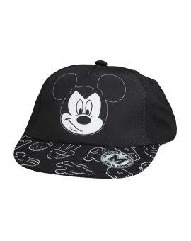 Mickey Kinder cap Zwart
