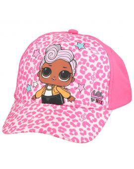 Minnie Kinder cap Roze