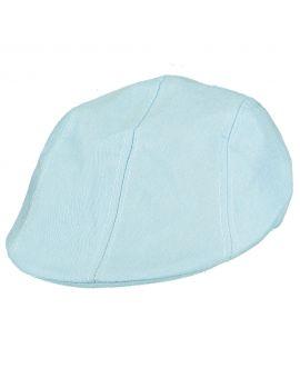 Heren cap Lichtblauw