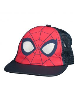 Spiderman Kinder cap Rood