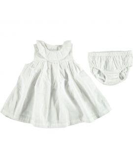 Newborn jurkje Wit