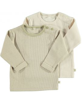 Newborn T-shirt Zand