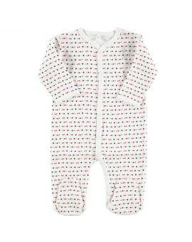 Baby pyjama Wit