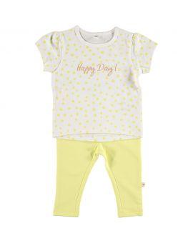 Newborn set Geel
