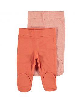 Biokatoen pyjama broek Oranje