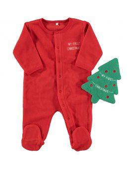 Baby pyjama Rood