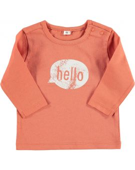 Just Born T-shirt Rood