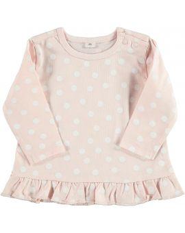 Newborn T-shirt Roze