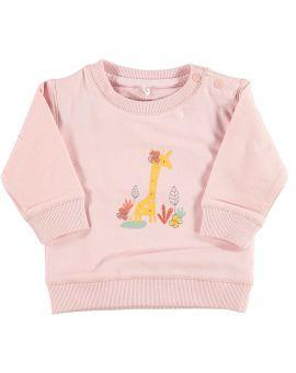 Newborn sweater Roze